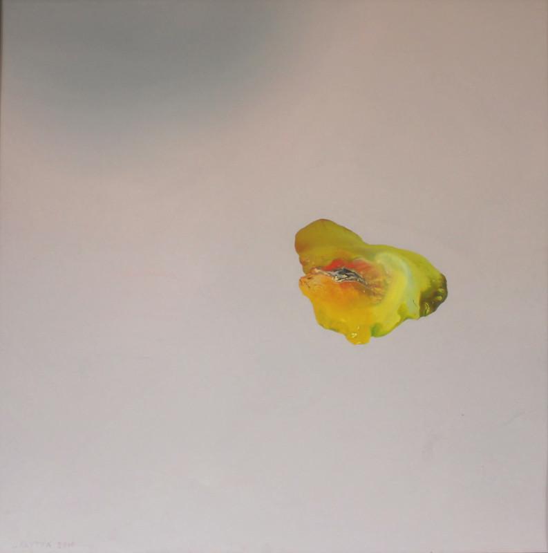 Alkyo 2010 akryyli levylle 105x105cm