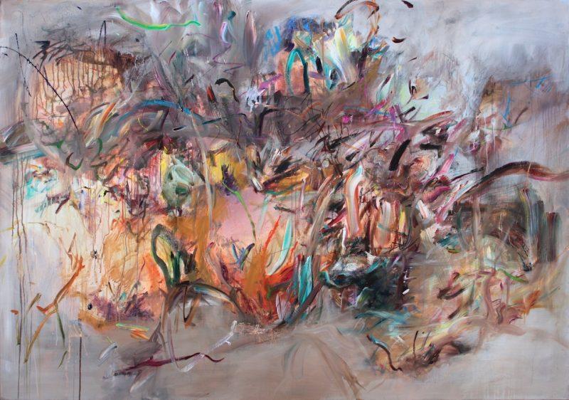 Gehenna 2013 mixed media 140x200cm