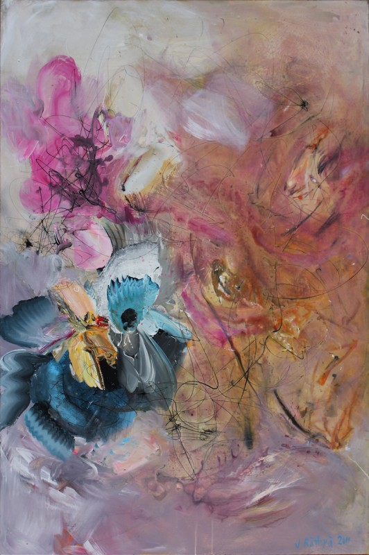Living Creature 2011 akryyli levylle 185x122